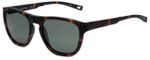 Nautica Designer Polarized Folding Sunglasses N6224S-215 in Matte Tortoise with Grey Lens