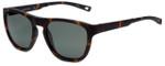 Nautica Designer Polarized Folding Sunglasses N6224S-215 in Matte Tortoise with Grey Lens