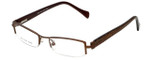 Moda Vision Designer Reading Glasses E3108-BRN in Brown 49mm