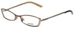 Versus by Versace Designer Eyeglasses 7048-1045 in Brown 50mm :: Progressive