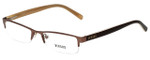 Versus by Versace Designer Eyeglasses 7058-1045-50 in Brown 50mm :: Custom Left & Right Lens