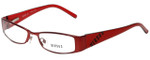 Versus by Versace Designer Eyeglasses 7063-1197-52 in Red Coral 52mm :: Custom Left & Right Lens