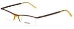 Versus by Versace Designer Eyeglasses 7064-1045 in Brown 51mm :: Custom Left & Right Lens
