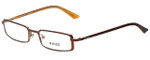 Versus by Versace Designer Eyeglasses 7068-1203 in Brown 49mm :: Custom Left & Right Lens