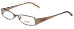 Versus by Versace Designer Eyeglasses 7055-1045-52 in Brown 52mm :: Progressive