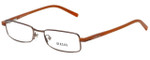 Versus by Versace Designer Eyeglasses 7061-1045 in Brown 50mm :: Progressive
