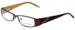 Versus by Versace Designer Eyeglasses 7063-1006 in Brown 52mm :: Progressive