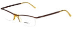 Versus by Versace Designer Eyeglasses 7064-1045 in Brown 51mm :: Progressive