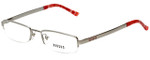 Versus by Versace Designer Eyeglasses 7077-1000 in Silver 50mm :: Custom Left & Right Lens