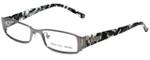 Versus by Versace Designer Eyeglasses 7079-1001 in White Camo 49mm :: Custom Left & Right Lens
