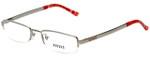 Versus by Versace Designer Eyeglasses 7077-1000 in Silver 50mm :: Progressive