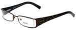 Versus by Versace Designer Reading Glasses 7071-1006 in Dark Brown 49mm