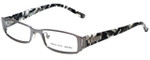 Versus by Versace Designer Reading Glasses 7079-1001 in White Camo 49mm