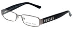 Versus by Versace Designer Reading Glasses 7083-1001 in Black 51mm