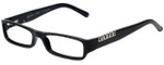 Versus Designer Eyeglasses 8069-GB1 in Black 50mm :: Custom Left & Right Lens
