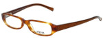 Versus by Versace Designer Eyeglasses 8077-156 in Honey Tortoise 49mm :: Rx Bi-Focal