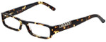 Versus by Versace Designer Reading Glasses 8069-671 in Tortoise 50mm
