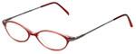 Ellen Tracy Designer Eyeglasses ET3004-RD in Red 47mm :: Rx Single Vision