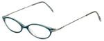 Ellen Tracy Designer Eyeglasses ET3004-TL in Teal 47mm :: Rx Single Vision