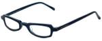 Ellen Tracy Designer Eyeglasses ET3011-BL in Blue 47mm :: Rx Single Vision