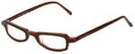 Ellen Tracy Designer Eyeglasses ET3011-BRN in Brown 47mm :: Rx Single Vision