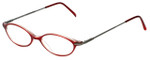 Ellen Tracy Designer Eyeglasses ET3004-RD in Red 47mm :: Rx Bi-Focal