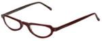 Ellen Tracy Designer Eyeglasses ET3009-BER in burgundy 48mm :: Rx Bi-Focal