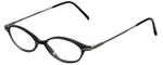 Ellen Tracy Designer Reading Glasses ET3004-BLK in Black 47mm