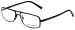 Dolce & Gabbana Designer Eyeglasses DG1122-01 in Black 52mm :: Progressive