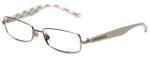 Dolce & Gabbana Designer Eyeglasses DG1234P-1203 in Silver White 53mm :: Progressive
