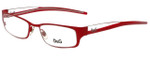 Dolce & Gabbana Designer Eyeglasses DG4123-H19 in Red 49mm :: Progressive