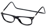 Clic Magnetic Eyewear Regular Fit Ashbury Style in Black :: Rx Single Vision