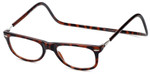 Clic Magnetic Eyewear Regular Fit Ashbury Style in Tortoise :: Rx Single Vision