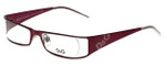Dolce & Gabbana Designer Reading Glasses DG5003-075 in Burgundy 49mm