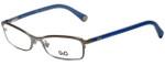 Dolce & Gabbana Designer Eyeglasses DG5089-1004 in Gunmetal/Blue 52mm :: Custom Left & Right Lens