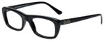 Dolce & Gabbana Designer Eyeglasses DG1107-501 in Black 50mm :: Custom Left & Right Lens