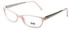 Dolce & Gabbana Designer Reading Glasses DG1106-626 in Pink/Silver 53mm