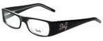 Dolce & Gabbana Designer Reading Glasses DG1130-675 in Black 49mm