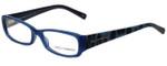 Dolce & Gabbana Designer Eyeglasses DG3085-1834 in Blue 53mm :: Custom Left & Right Lens