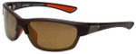 Harley-Davidson Official Designer Sunglasses HD0629S-49G in Dark Brown Frame with Amber Lens
