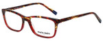 Marie Claire Designer Eyeglasses MC6222-RTO in Red Tortoise 53mm :: Custom Left & Right Lens