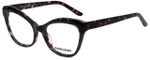Marie Claire Designer Eyeglasses MC6234-BLK in Black Grey Marble 53mm :: Custom Left & Right Lens