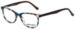 Marie Claire Designer Eyeglasses MC6237-TEB in Teal Brown 47mm :: Custom Left & Right Lens
