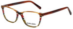 Marie Claire Designer Eyeglasses MC6245-APS in Apple Stripe 52mm :: Custom Left & Right Lens