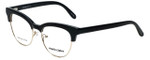 Marie Claire Designer Eyeglasses MC6247-BKG in Black Gold 51mm :: Custom Left & Right Lens