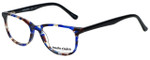 Marie Claire Designer Eyeglasses MC6237-BLB in Blue Black 47mm :: Rx Single Vision