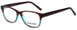 Marie Claire Designer Eyeglasses MC6217-BUR in Burgundy Stripe 52mm :: Progressive