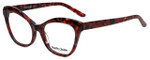 Marie Claire Designer Eyeglasses MC6234-BUR in Burgundy Marble 53mm :: Progressive