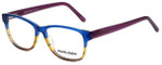 Marie Claire Designer Reading Glasses MC6217-BLU in Blue Stripe 52mm