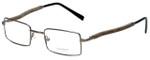 Gold & Wood Designer Eyeglasses 410.9-106 in Gunmetal 47mm :: Progressive